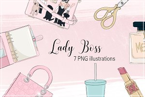 "Illustrations ""Lady Boss"" Fashion"