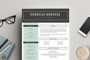 Resume Template 3 Pages, CV Template