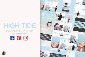 High Tide Social Media Pack
