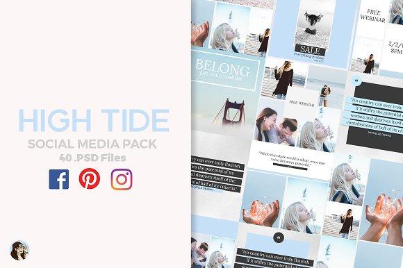High Tide Social Media Pack