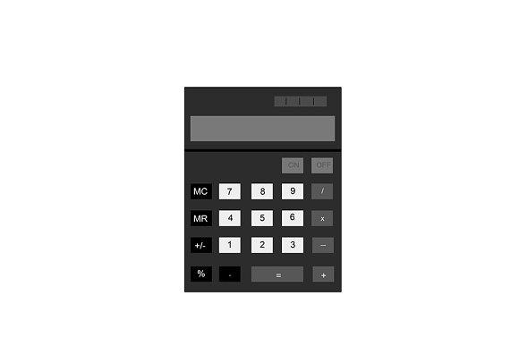 Illustration Of Calculator