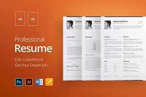 Professional Resume 1 H.W