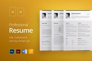 Professional Resume 1 H.CG