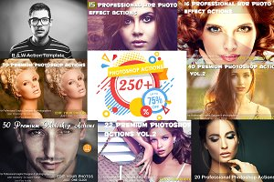 Mix Professional 220 Actions Bundle
