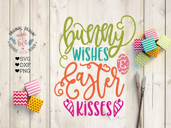 Bunny Wishes And Easter Kisses