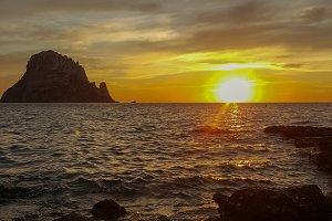 A nice golden sunset