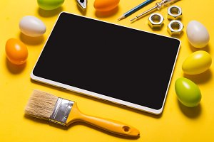 Digital tablet and builder tools