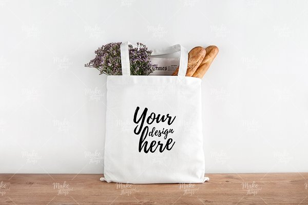 tote mock up