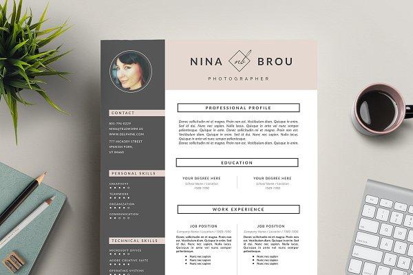 Feminine Resume Design | CV