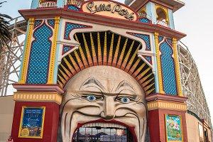 Luna Park, in Melbourne