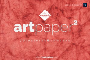 art paper vol.2 - textures & alpha