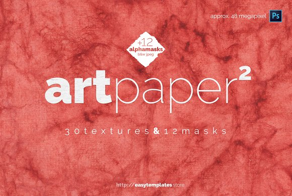 Art Paper Vol.2 Textures Alpha