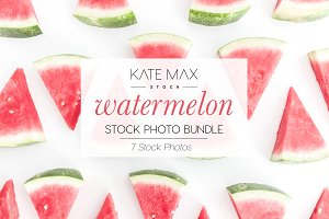 Watermelon Stock Photo Bundle