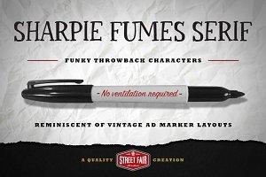 Sharpie Fumes Serif