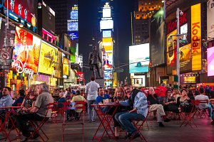 New York, Broadway. Time Square