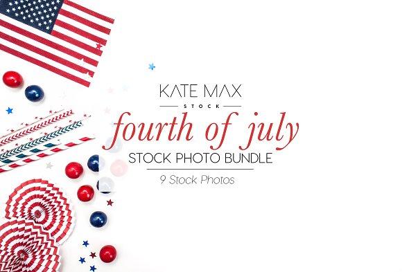 Fourth Of July Stock Photo Bundle