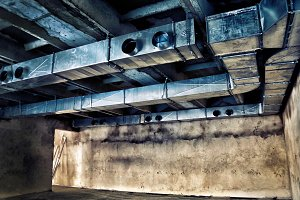 Ventilation pipes and air ducts