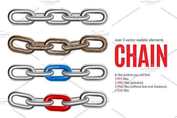 Realistic Chain Set