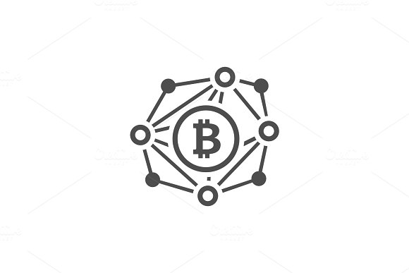Blockchain Network Icon