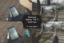 8 photo mock-ups Galaxy Tab S