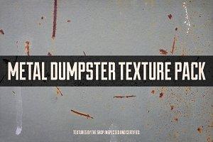 Metal dumpster texture pack