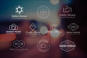 10 Photography Logos Vol.3