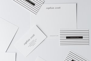 Sophia Business Card Templates