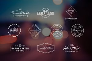 10 Photography Logos Vol. 4