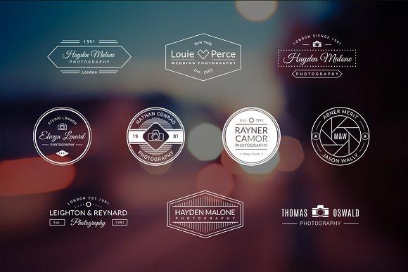 10 Photography Logos Vol. 5 - Logos
