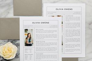 Olivia Media Kit + Resume