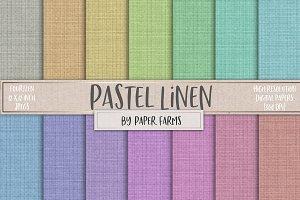 Pastel Linen Textures