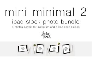 Mini Minimal 2 Stock Photo Bundle