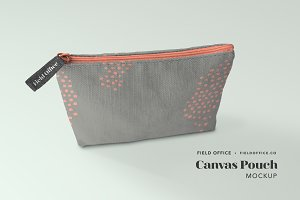 Canvas Pouch Mockup