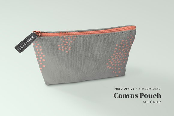 Download Canvas Pouch Mockup