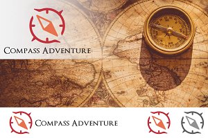 Compass Adventure Navigation Logo