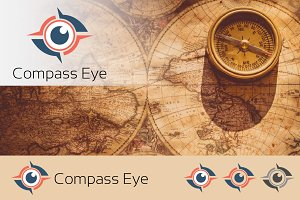 Compass Eye of Navigation Logo