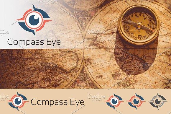 Compass Eye Of Navigation Logo