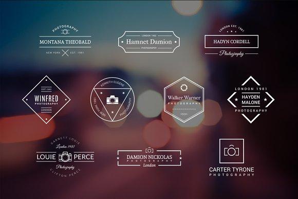 10 Photography Logos Vol. 7 - Logos