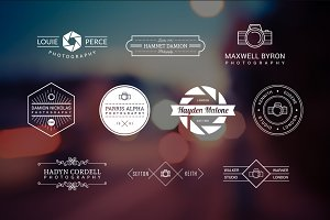 10 Photography Logos Vol. 9