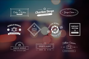 10 Photography Logos Vol.10