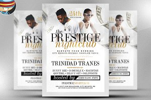 Prestige Nightclub Flyer Template
