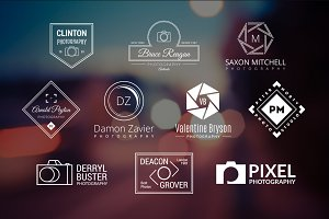 10 Photography Logos Vol. 12