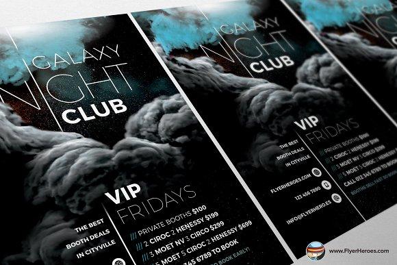 Galaxy Club 2017 Flyer Template
