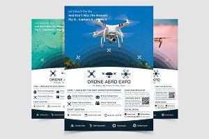 Drone Aero Expo Flyer