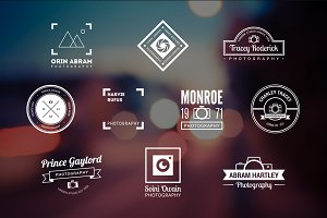 10 Photography Logos Vol. 15