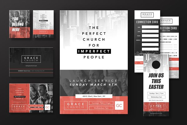 Church Invite Cards Template from images.creativemarket.com