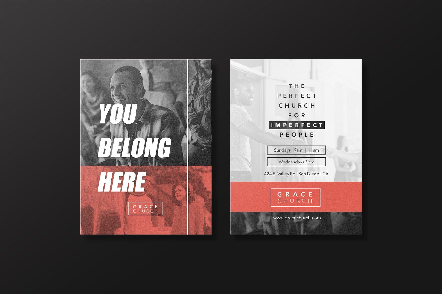 Church Essentials - Invite Card For Church Invite Cards Template