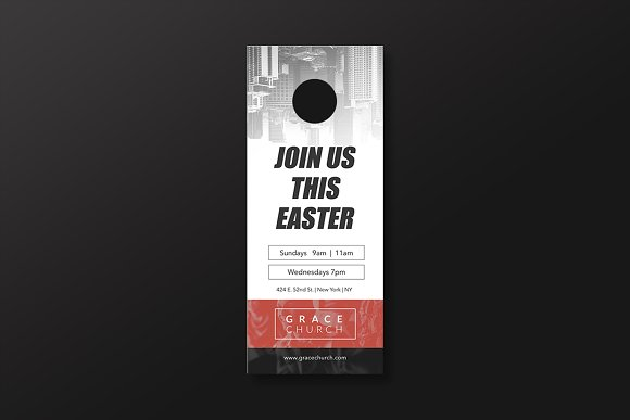 Church Essentials Door Hanger
