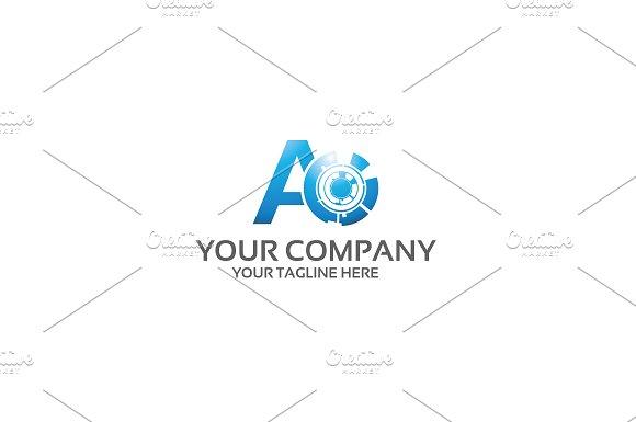 A Media Logo Template