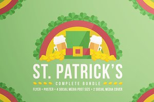 St. Patrick's Complete Bundle 50%OFF